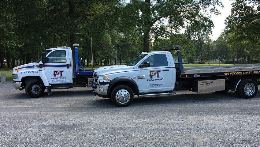 Paule Towing, Belleville Illinois roadside assistance.
