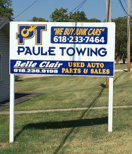 Paule Towing in Belleville Illinois.