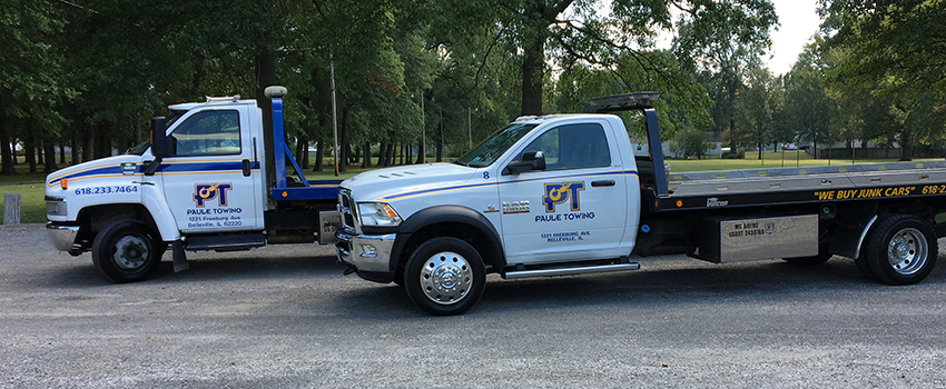 Paule Towing in Belleville IL: Towing, Recovery, Roadside Assistance