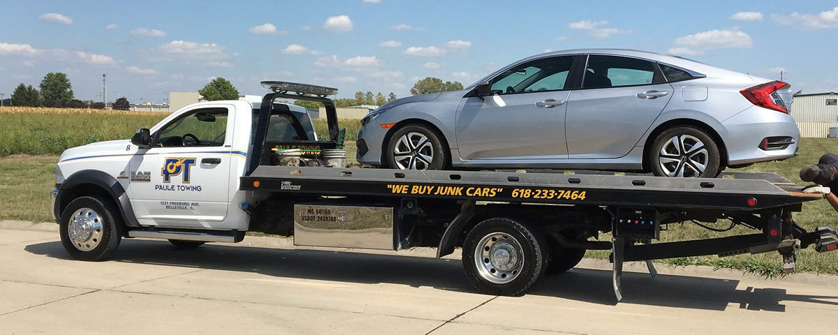Paule Towing flat-bed towing.